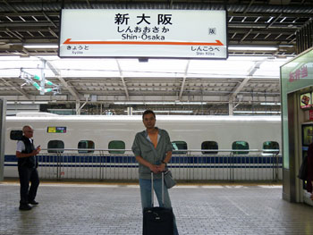 新大阪駅の新幹線ホーム
