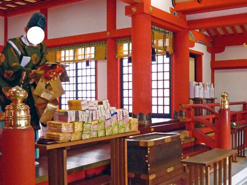 金神社でのドリームジャンボ宝くじ高額当選のご祈祷