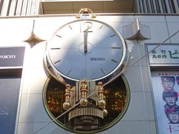 有楽町マリオンのカラクリ時計