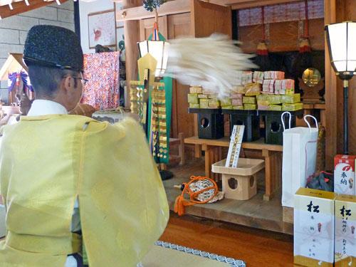 栃木県の大前恵比寿神社でのハロウィンジャンボ宝くじ高額当選のご祈祷