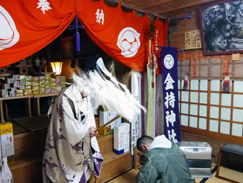 金持神社でグリーンジャンボ宝くじ高額当選ご祈祷