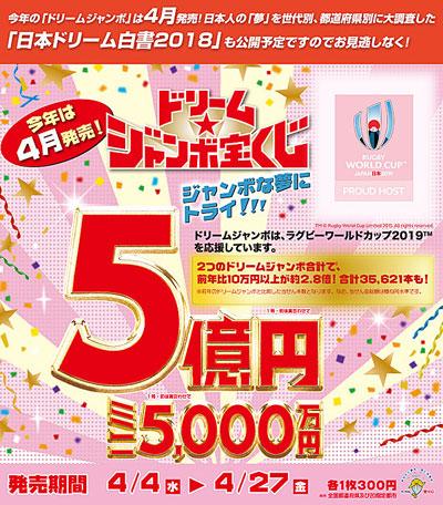ドリームジャンボ宝くじ宣伝2