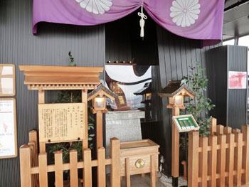 神社の全景