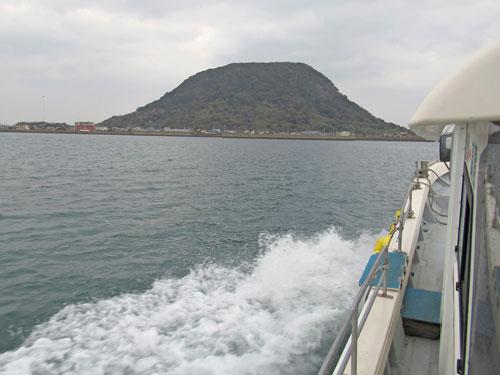 海上かの船から見た高島
