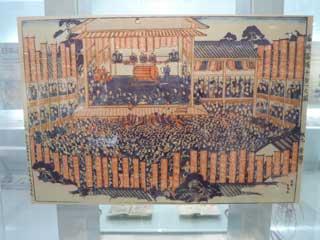江戸時代の宝くじ抽選風景