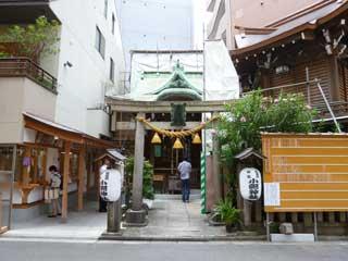 日本橋小網神社に到着