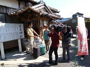 長崎放送の取材撮影に遭遇