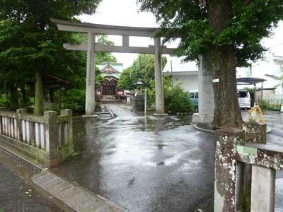 勝利八幡神社に到着