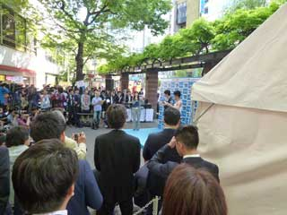 田泰造さんと武井壮さんの二人のトークショー