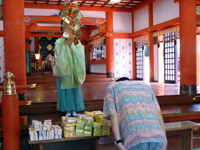 金神社での宝くじ高額当選祈願