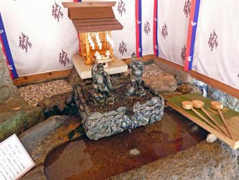 金神社の黄金銭洗い