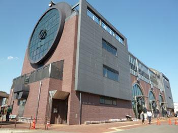 真岡鉄道真岡駅のSL的な外観